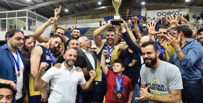 بعد الفوز على هوبس.. سلة الرياضي اللبناني تحصد دورة حسام الدين الحريري