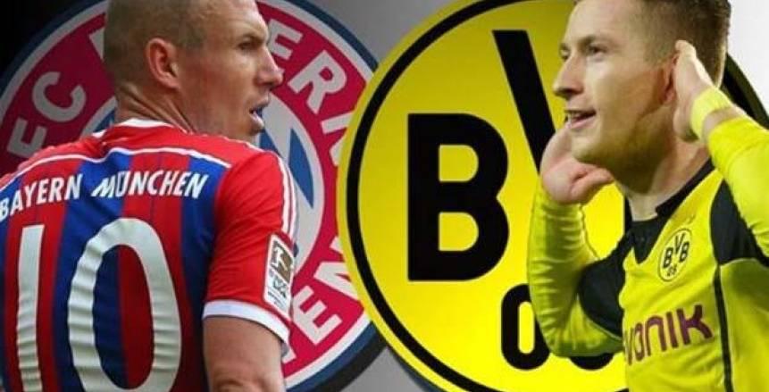 بث مباشر لمباراة بروسيا دورتموند وبايرن ميونخ في قمة الدوري الألماني