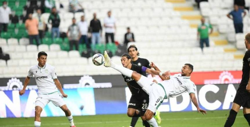 كوكا يشارك في تعادل كونيا سبور مع طرابزون 2-2 في الدوري التركي
