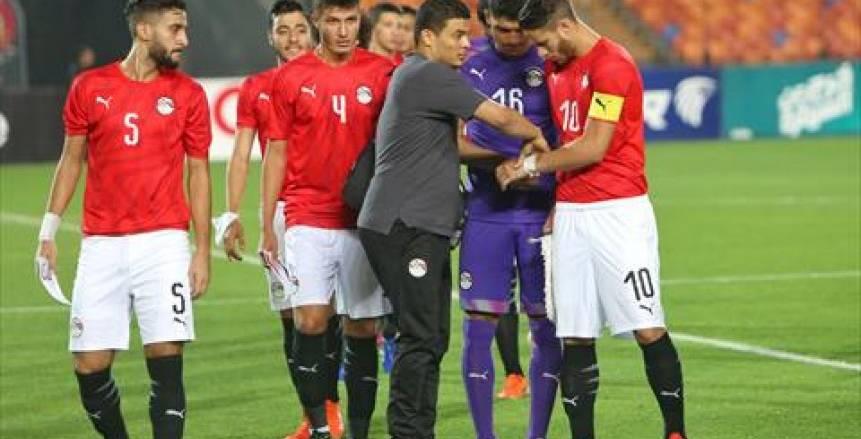 عاجل.. بالفيديو.. إصابة رمضان صبحي مع المنتخب الأوليمبي قبل مباراة القمة