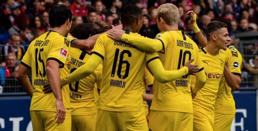 بوروسيا دورتموند يخسر من فرايبورج بهدفين في الدوري الألماني «فيديو»
