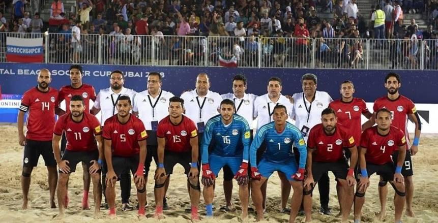 مدرب مصر للشاطئية: نحترم كل المنتخبات.. وهدفنا المباراة النهائية بـ «أمم أفريقيا»