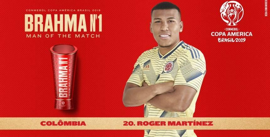 """مارتينيز يحصد جائزة أفضل لاعب في مباراة الأرجنتين وكولومبيا بـ""""كوبا أمريكا"""""""
