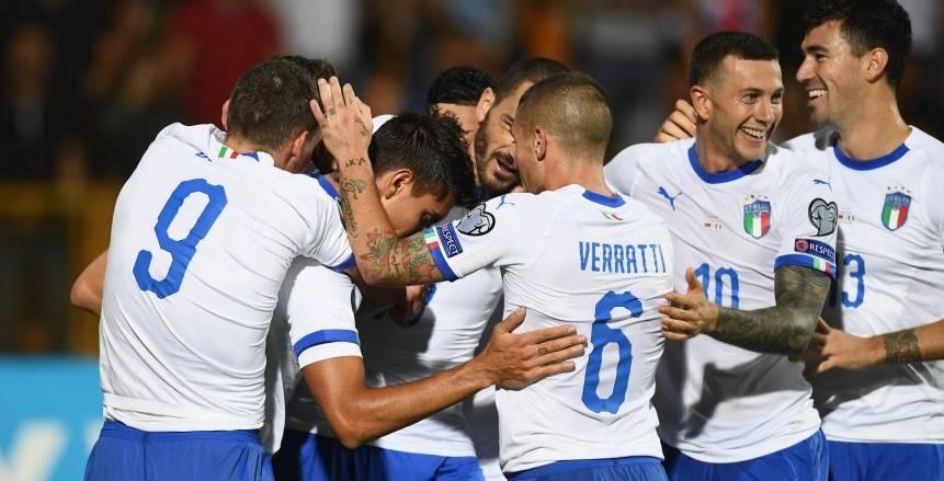 مانشيني يدفع ببدلاء إيطاليا أمام ليشتنشتاين بعد ضمان التأهل ليورو 2020