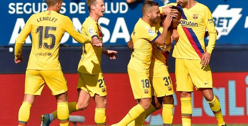 الموعد والقنوات الناقلة لمباراة برشلونة ضد سيلتا فيجو في الدوري الإسباني