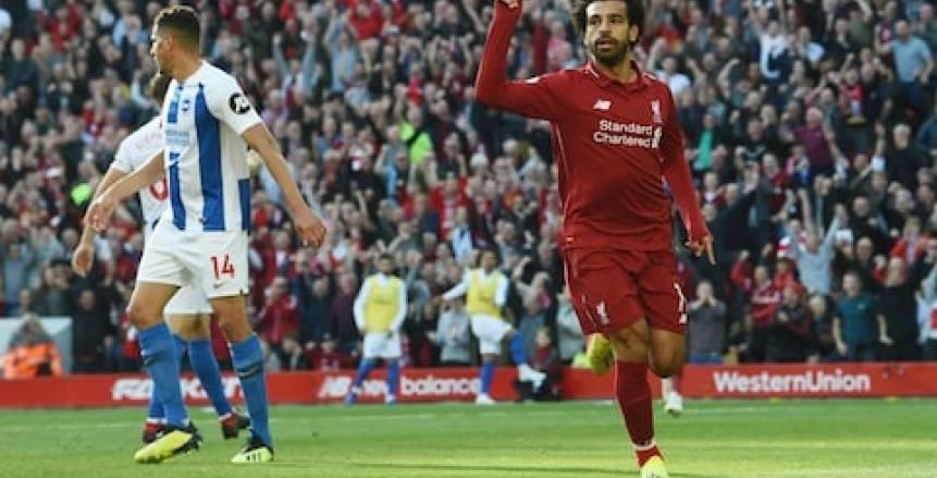 الدوري الإنجليزي| محمد صلاح يقود تشكيل ليفربول المتوقع ضد برايتون
