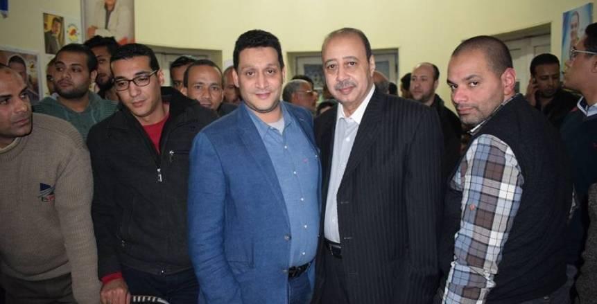نشأت العريس يفوز برئاسة نادي سوهاج