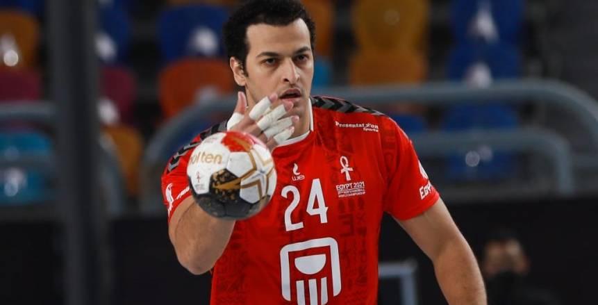 موافقة مدرب منتخب اليد تحدد مصير إعارة إبراهيم المصري للعربي القطري