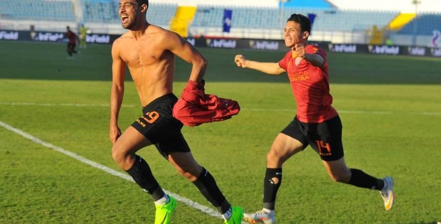 سيراميكا كليوباترا يتعادل أمام المصري بهدفين لكل فريق في شوط أول مثير