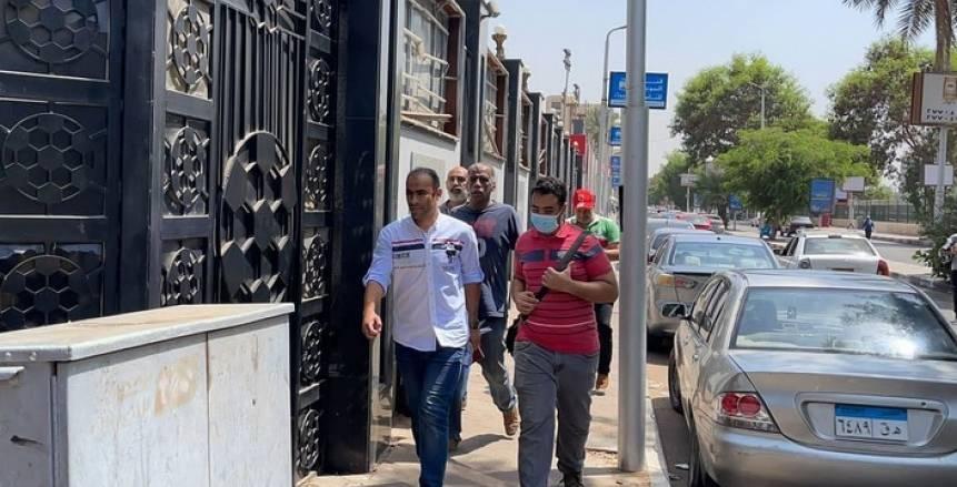 صور وصول مندوبي الأندية قبل الاجتماع مع اتحاد الكرة