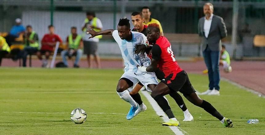 مباراة بيراميدز وطلائع الجيش في الدوري المصري