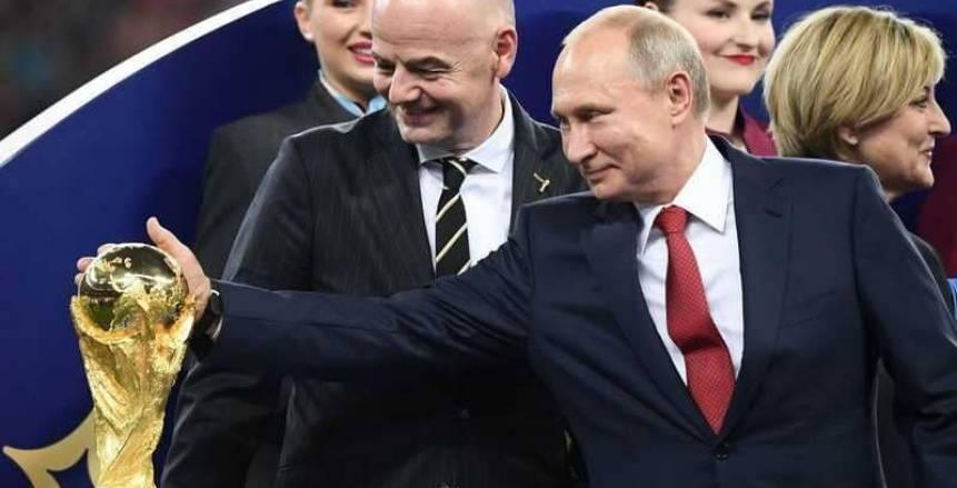 «بوتين»: فخور بالمونديال.. ومستمرون في استثناء التأشيرة