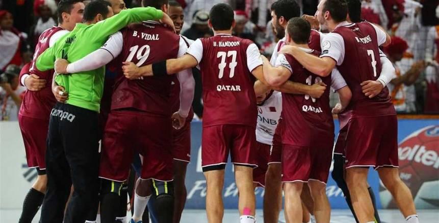 مجموعة مصر  منتخب قطر لليد يتقدم على الأرجنتين «16/13» في الشوط الأول