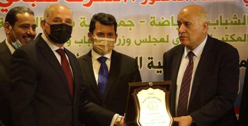 عمرو حسين رئيسا للاتحاد العربي والإفريقي لكرة السرعة