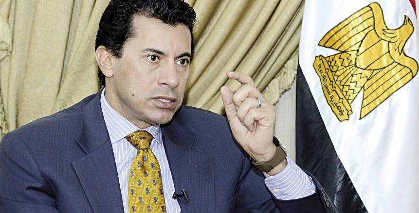 وزير الرياضة: حفل افتتاح أمم أفريقيا يليق بمصر.. وشكراً للمنتخب