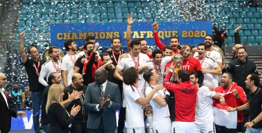 منتخب اليد يفوز بالبطولة الأفريقية على حساب تونس ويتأهل لأولمبياد طوكيو