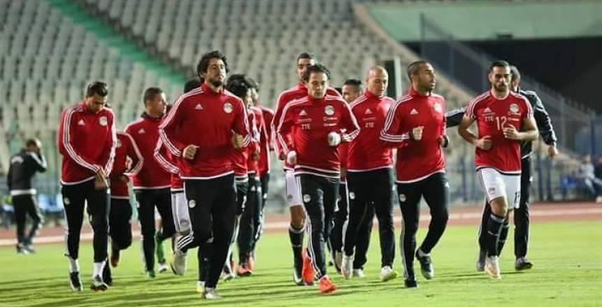 تدريبات المنتخب المصري لليوم الرابع