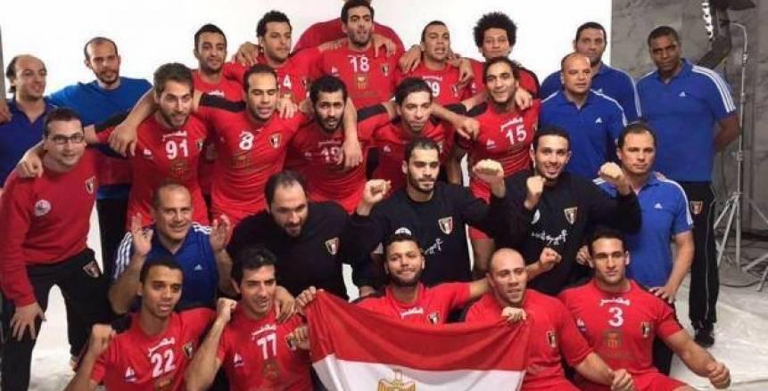 منتخب مصر لليد في تونس استعدادا لكأس العالم