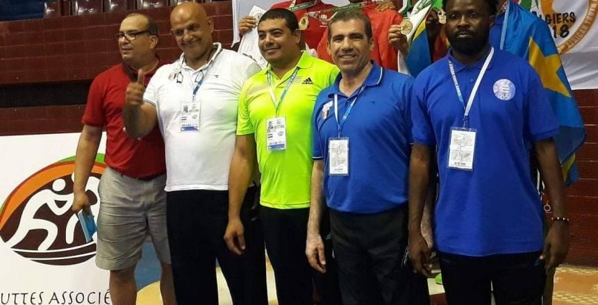 12 ميداليات حصيلة المنتخب الوطنى للمصارعة بدورة الألعاب الأفريقية