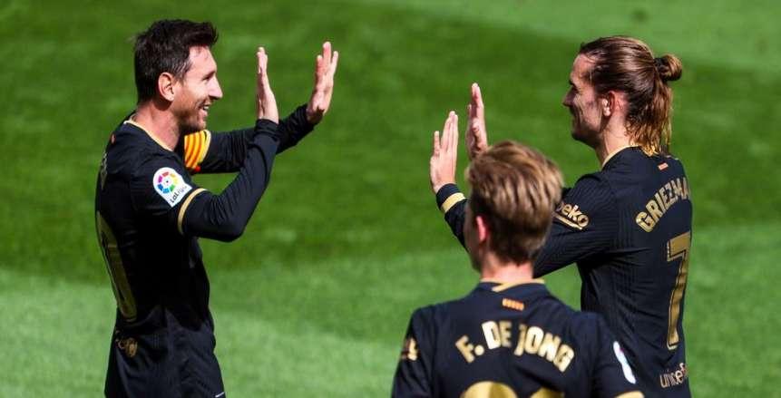 أهداف مباراة برشلونة وفالنسيا في الدوري الإسباني «فيديو»