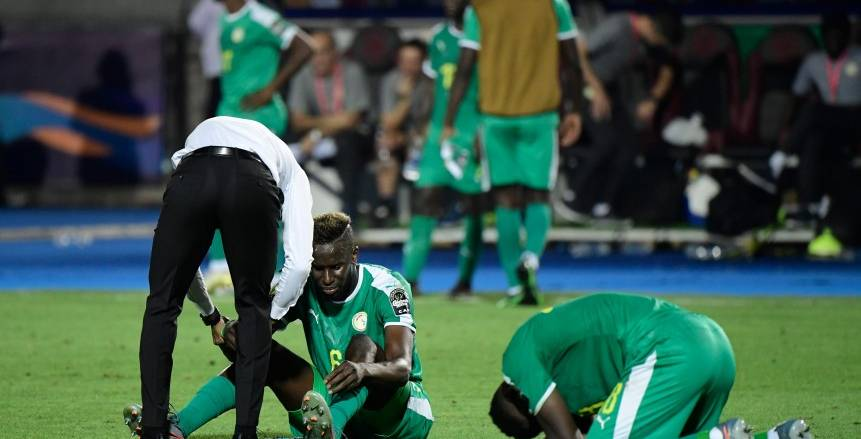 حسرة لاعبي منتخب السنغال بعد خسارة لقب أمم أفريقيا