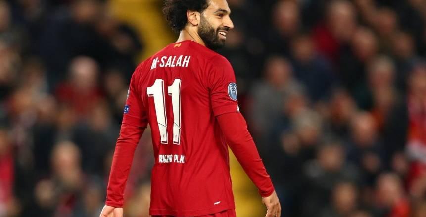 محمد صلاح ضمن أفضل 50 لاعبا بالدوري الإنجليزي أخر 10 سنوات