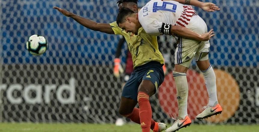 كوبا أمريكا| كولومبيا تفوز علي باراجواي بهدف نظيف