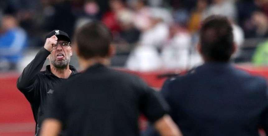 تفاصيل شجار «كلوب ودايك» في مباراة ليفربول وبيرنلي بالدوري الإنجليزي