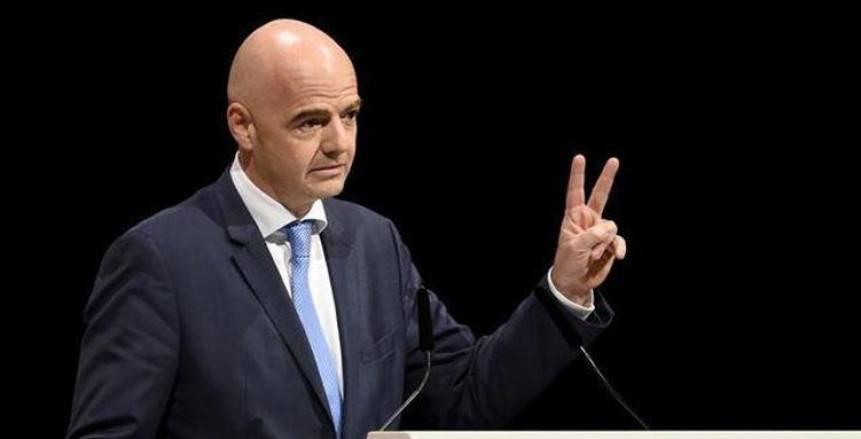 رئيس «فيفا» يعلن إجراء انتخابات الاتحاد الدولي العام المقبل بباريس
