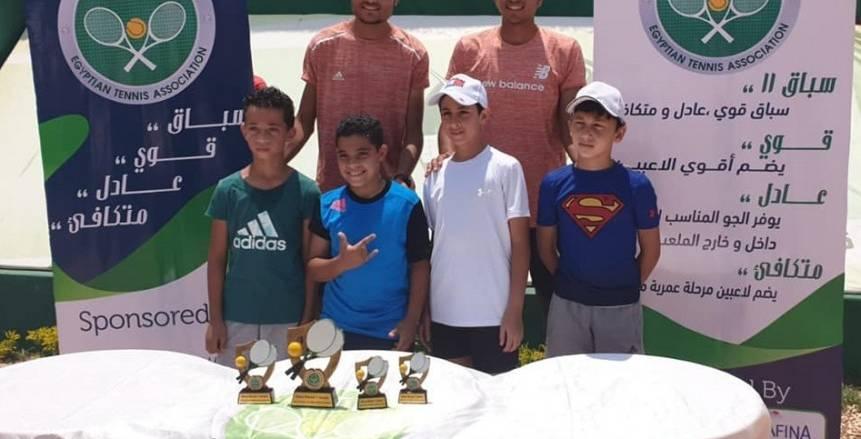 غدا.. رابطة التنس تطلق الجولة الثانية من بطولة Race eleven للناشئين والناشئات