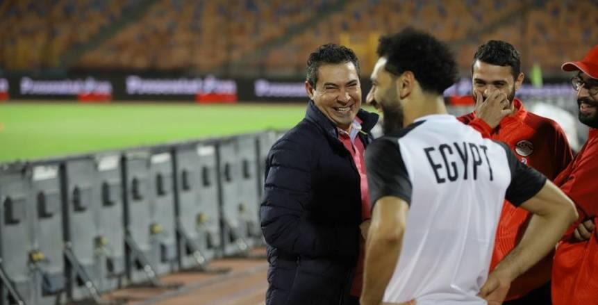 حسام البدري يكشف نص رسالة محمد صلاح له: تمنى فوز المنتخب