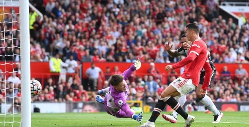 هدف كريستيانو رونالدو يقود مانشستر يونايتد للتقدم على نيوكاسل بالشوط الأول