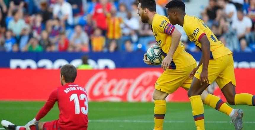 ليفانتي يقلب الطاولة أمام برشلونة بثلاثية مذلة