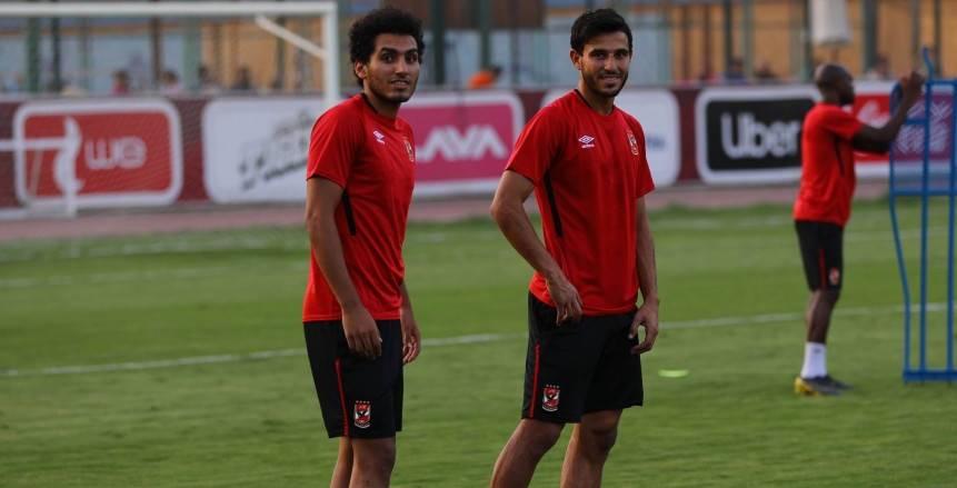 أحمد حمدي يشارك في تدريب الأهلي بعد العودة من الجونة