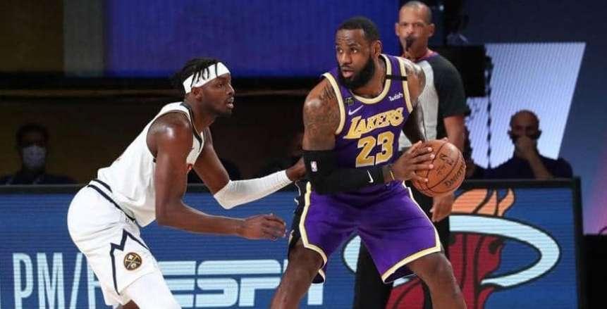 جيمس يقود الليكرز إلى نهائي NBA لأول مرة بعد غياب 10 سنوات