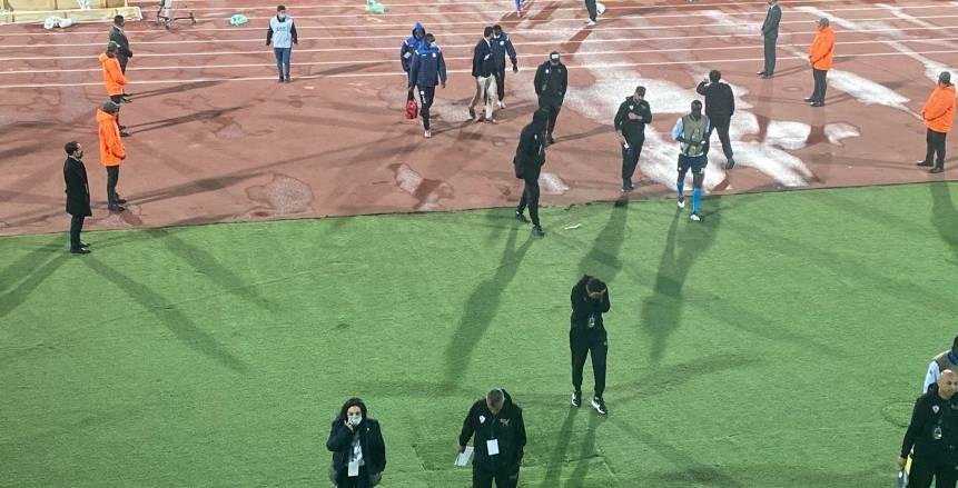 غضب شيكابالا.. رد فعل لاعبي الزمالك بعد الوداع الأفريقي «فيديو»
