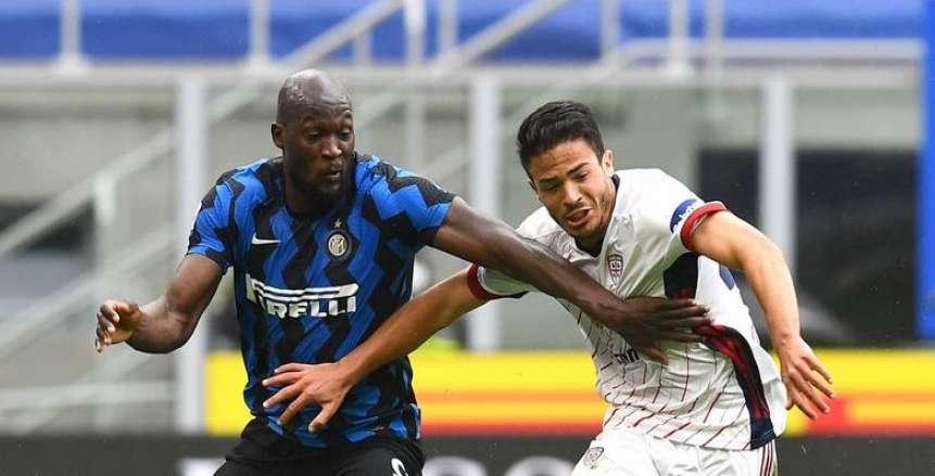 إنتر ميلان يعزز صدارته للدوري الإيطالي بفوز صعب على كالياري «فيديو»