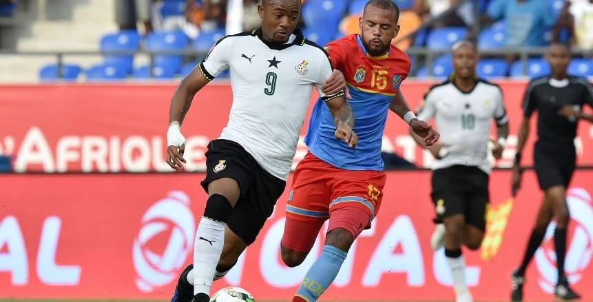 غانا والكونغو الديمقراطية| انتهاء الشوط الأول بالتعادل السلبي