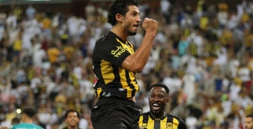 أحمد حجازي محتفلا بتصدر فريقه للدوري السعودي: في الاتحاد قوة (صورة)