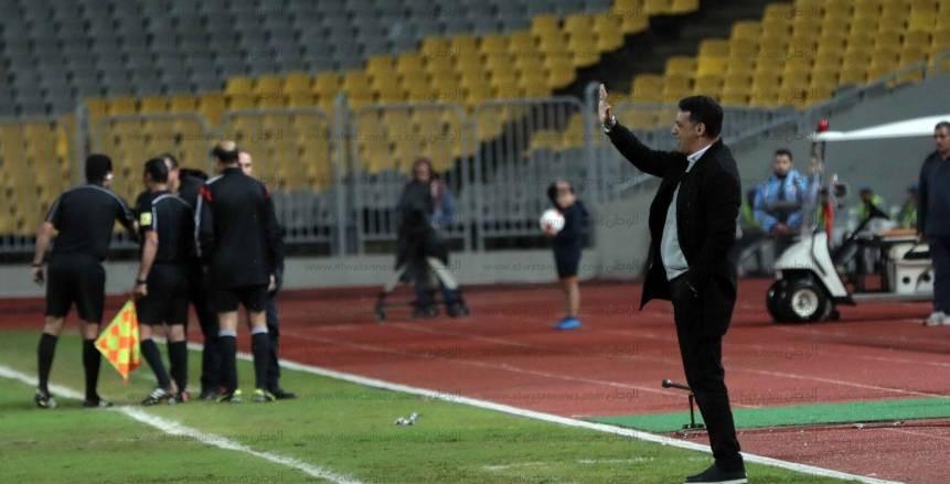 مباراة الزمالك والمصري في الجولة 20 من مسابقة الدوري
