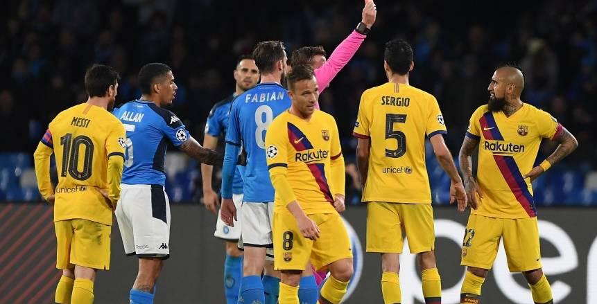 برشلونة يستعيد جريزمان وديمبلي قبل مواجهة نابولي بدوري أبطال أوروبا