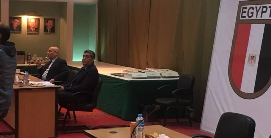 بالصور| اكتمال النصاب القانوني في عمومية الأولمبية وأحمد مجاهد ممثلا عن الجبلاية