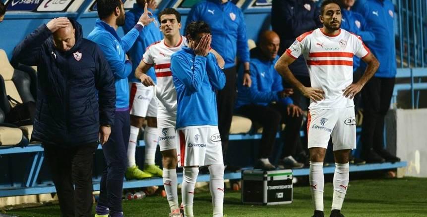 4 صدمات قوية تنتظر الزمالك في 24 يوما تهدد حلم تحقيق لقب الدوري
