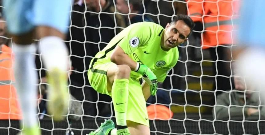 الدوري الإنجليزي| انتهاء موسم كلاوديو برافو مع مانشستر سيتي