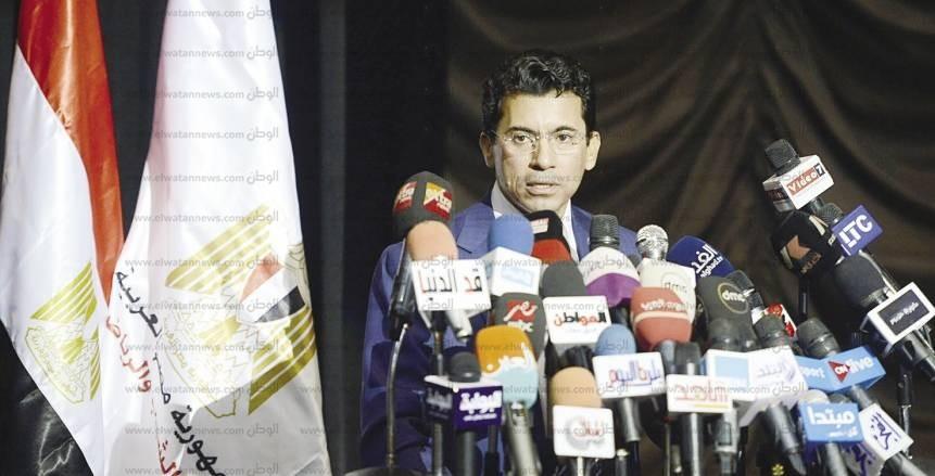 «صبحي» يشكل اللجنة الرياضية للعاملين بالمجلس القومي