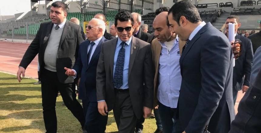 وزير الرياضة يشهد تكريم لاعبي مصر لكرة اليد