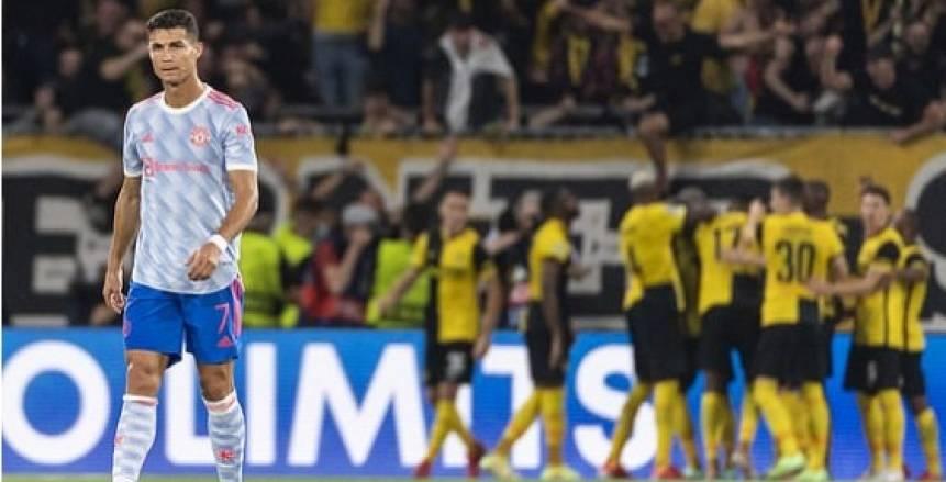أهداف مباراة مانشستر يونايتد ويانج بويز بدوري أبطال أوروبا «فيديو»