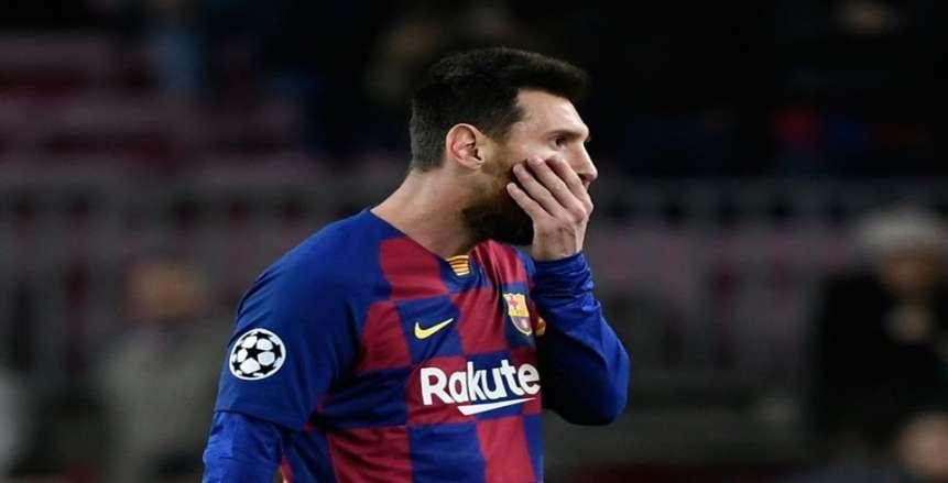 شكوك حول غياب ميسي عن مواجهة برشلونة وريال سوسيداد