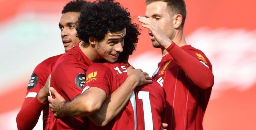 جونز يسجل هدف ليفربول الأول في شباك أياكس
