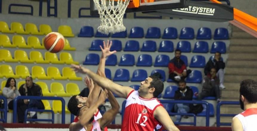 الليلة.. الأهلي يواجه الجزيرة في نهائي كأس مصر لكرة السلة